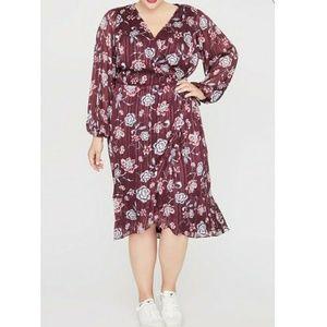 🔥🆕➕ Rachel Roy 💜 Wrap Dress